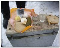 О еде и питье на зимней рыбалке