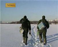Видео «Диалоги о рыбалке» — Подмосковная зима