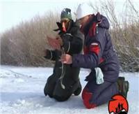 """Видео """"Мужская компания"""" - Река Исеть. Зимняя рыбалка на жерлицы"""