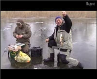 Видео «Моя рыбалка» — Нижняя Волга. Астраханская область. Зима 2012. Окунь, щука. Часть 2 (10 выпуск)