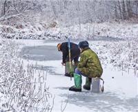Ловля на малых реках Подмосковья