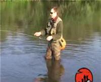 Видео «Мужская компания» — Река Миасс. Нахлыст для начинающих