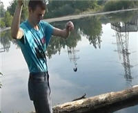 Видео «Рыбалка с Пашком» — Ловим ротана (8 выпуск)