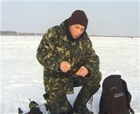 """Видео """"О рыбалке всерьез"""" -  Ловля окуня зимой на мормышку"""