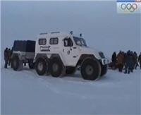 Видео «Рыбалка с Радзишевским» — Рыбинское водохранилище. Январь 2010