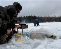 Зимняя ловля леща. Устье р.Соложа