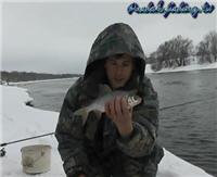 Видео «Рыбалка с Пашком» — Зимний фидер 2013