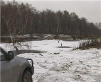 Видео «По клевым местам» - Минаевский пруд. Первый лед