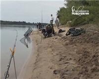 Ловля леща на фидер. Река Ока, Низково