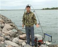 Видео «Профессиональная рыбалка» —  Профессиональная рыбалка на Финском заливе. Часть 2
