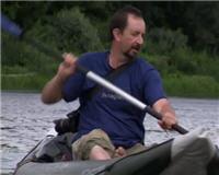 Видео «Один на реке» — По следам первобытных людей