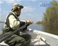 Видео «Наша рыбалка» — Хищник не спортивно. Часть 2 (Шмат, удочка, резинка.)