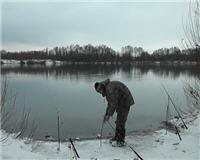 Видео «Рыбалка с Пашком» — Налим на Оке. 2013г