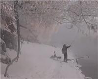 Видео «Рыбалка с Пашком» — Пурга 2014. Часть 2