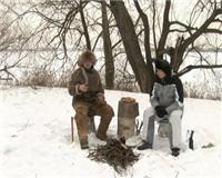 Видео «Оружие» —  Испытание ножа кукри