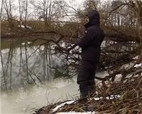 Видео «Голавлемания» — Зимой на притоке Оки