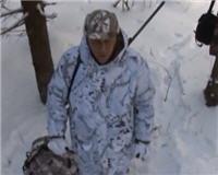Видео «Охотничьи просторы» — Охота на волка с флажками. Валдай