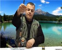 Видео «Клуб рыбаков» — Как правильно намотать шнур на безинерционную катушку