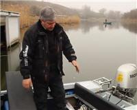 "Видео «Рыбалка по-лугански» — Тюнинг лодки ""Южанка-2"""