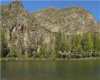 Путешествия с рыбалкой по горным рекам. Река Курчум