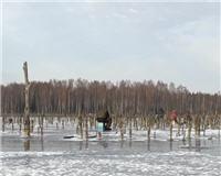 Видео «Салапин» — Необычно ранний первый октябрьский лед