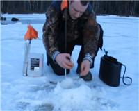 Видео «Балашиха и ближайшее околорубежье» — За щукой в лес. Зима