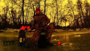 Зимняя ловля щуки на жерлицы - Рыбалка 68
