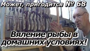 Вяление рыбы в домашних условиях — ПашАсУралмашА: — Может пригодится! (68 выпуск)