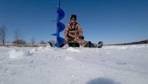 Ловля плотвы и окуня в марте - Рыбалка 68
