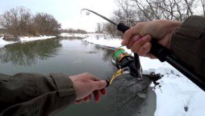 Много щуки в маленькой речке - Рыбалка 68