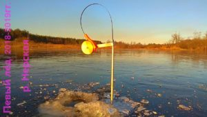 Первый лёд на реке Нерская - Мир мужчин