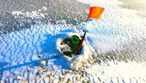 Открыл сезон рыбалки на жерлицы! — Клуб рыбаков