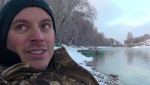 Фидер в декабре. Москва-Река - Рыбалка с Пашком