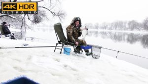 Лещ на фидер зимой - Рыбалка с Пашком