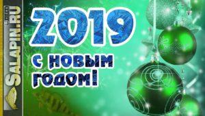 Новогоднее поздравление от Салапина