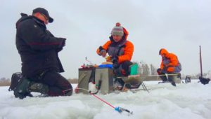 Первая зимняя рыбалка на Днепре — Клуб рыбаков