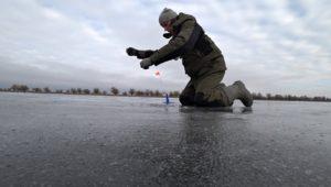 Зимняя Рыбалка в Астрахани 2019. Часть 3. Оставил жерлицы без присмотра... - Рыбалка 68
