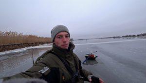 Зимняя Рыбалка в Астрахани 2019. Часть 1. Не ожидал поймать эту рыбу на балансир! - Рыбалка 68