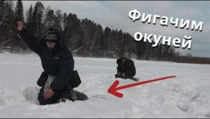 Окунь в маленьком озере - Болен рыбалкой