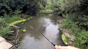 Рыбалка на спиннинг на маленькой речке - Рыбалка 68