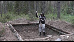 """Готовимся жить в лесу! - Проект """"Землянка"""""""