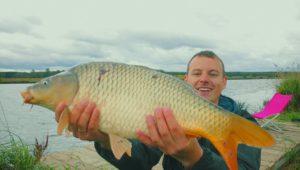 Отличная ловля карпа - Рыбалка с Пашком