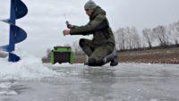 Ловля карася зимой со льда - Рыбалка 68
