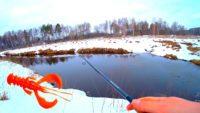 Ловля щуки на малой реке весной