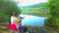 Июньский фидер на Оке - Рыбалка с Пашком