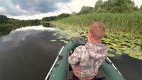 Ловля щуки на поппер и лягушку - Рыбалка 68