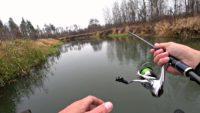 Стоянки щуки на малой реке - Рыбалка 68