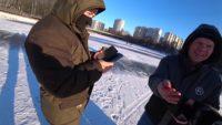 Первый лёд сезона 2020-2021 — Рыбачим сами