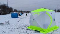 Зимняя рыбалка в палатке — Рыбачим сами