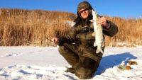 Щука на балансир и жерлицы в декабре — Рыбалка на реке